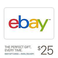 eBay Deal: $25 eBay Gift Card (Digital Delivery)