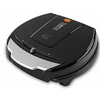 eBay Deal: George Foreman GR100V (100sq in Cooking Area, up to 6 burgers) Nonstick Grill w/ Variable Temperature Control $35 + free shipping