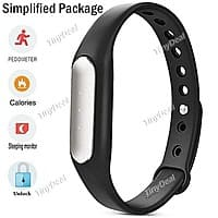 TinyDeal Deal: Xiaomi Miband Bluetooth Smart Bracelet for Android or iPhones