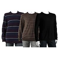 Kohls Deal: Kohl's Cardholders: Select Men's Crewneck Sweaters