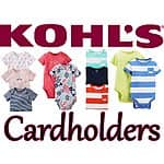 Kohls Deal: Kohl's Cardholders: Carter's Infant Bodysuits (solid or print)