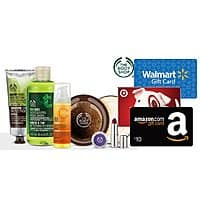 SwagBucks Deal: The Body Shop Stores: $20 in Your Choice of Gift Cards When You Spend