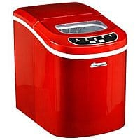 Rakuten (Buy.com) Deal: Avalon Bay AB-ICE26R Portable Ice Maker (red)  + $15 in Rakuten Cash for $100 + free shipping