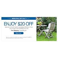 eBay Deal: eBay Coupon: Orders $100+ in Select Home & Garden