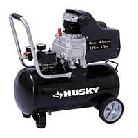 Home Depot Deal: Husky 8-Gal Portable Electric Air Compressor