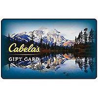 eBay Deal: $50 Cabela's Gift Card