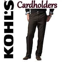 Kohls Deal: Kohl's Cardholders: Dockers Men's Signature Khaki Pants