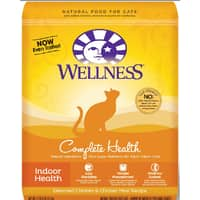 Chewy Deal: Wellness Complete Health Dry Pet Food: 23-Lbs Indoor Cat Food