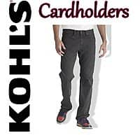 Kohls Deal: Kohl's Cardholders: Levi's Men's 505 Regular Jeans