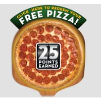 Papa Johns Deal: Papa John's Coupon: Free Large Pizza When You Spend