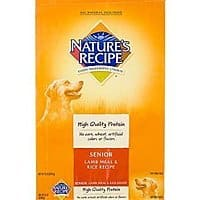 Amazon Deal: 15-Lb Nature's Recipe Lifestages Senior Dog Food (Lamb & Rice)