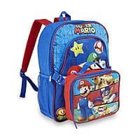 Sears Deal: Kids' Character Backpack + Lunch Bag Set (various) $9.60 + Free Store Pickup at Sears