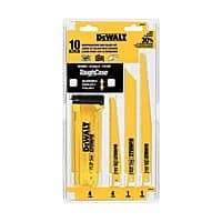 Ace Hardware Deal: 10-Piece Dewalt Reciprocating Saw Blade Set w/ Case