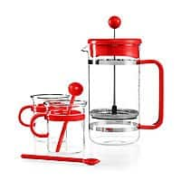 Macy's Deal: Macys Free Shipping on All Orders:5-Piece Bodum Bistro French Press or Assani Tea Set $15, Fiesta Puppet Oven Mitt $7, Laurn Ralph Lauren Logo Pillow $6.75, More  + free shipping