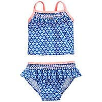 Macy's Deal: 2-Piece Carter's Baby Girls' Swimsuit $3, First Impresions Baby Boys' or Girls' Shorts and Tees $3, 2-Piece Baby Girls' (up to 18M) Tunic and Legging Set $6, More + Free shipping