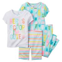 Kohls Cardholders: 2-Pack of 2-Piece Baby Girl Carter's Print Pajama Set (6mo-24mo) $  7 + free shipping ($  3.50 per pajama set)
