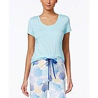 Women's Nautica Sleepwear: Coral-Graphic Pajama Top $  3, Plus Size Short-Sleeve Pajama Top (blue) $  3, Short-Sleeve Pajama Top $  3 + Free ship on $  25+