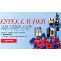 Macy's: 15% Off Beauty: $35 Estee Lauder Item + 7-Pc Gift Set