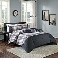 Cool Designer Living Piece Asher Comforter Set