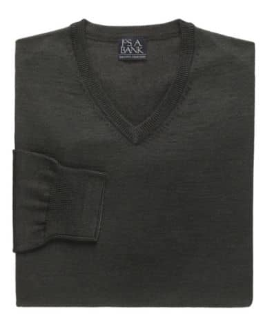 Jos A. Bank Merino Blend Sweaters (v-neck)  $13.50 + Free Shipping