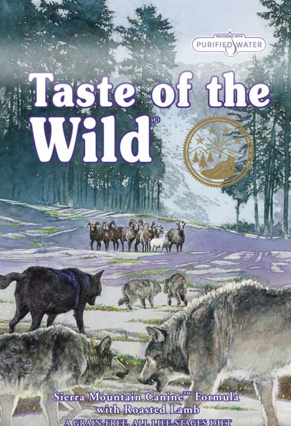 60lbs Taste of the Wild Dry Dog Food (various)  $75 + Free Shipping (New Customers)