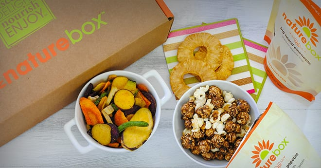 NatureBox Black Friday Deal of 5 Full-Sized Packages - Just Pay $1.97 for Shipping (Valued at $19.95)