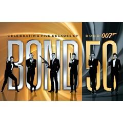 Bond 50 Blu-Ray Set $75.00 at Foxconnect!