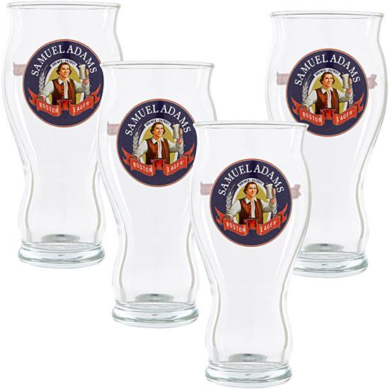 4-Pack Samuel Adams 30th Anniversary Pint Glasses  $10
