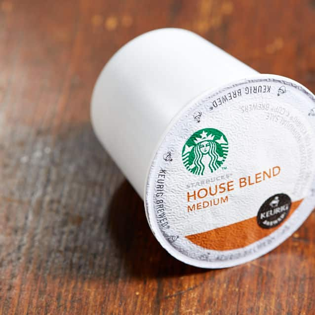 256-Count Starbucks K-Cups for Keurig Brewers (House Blend)  $80 + Free Shipping