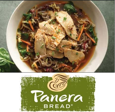 Panera Bread: Broth Bowl  $5 Off (when you watch 3x 1-min videos)
