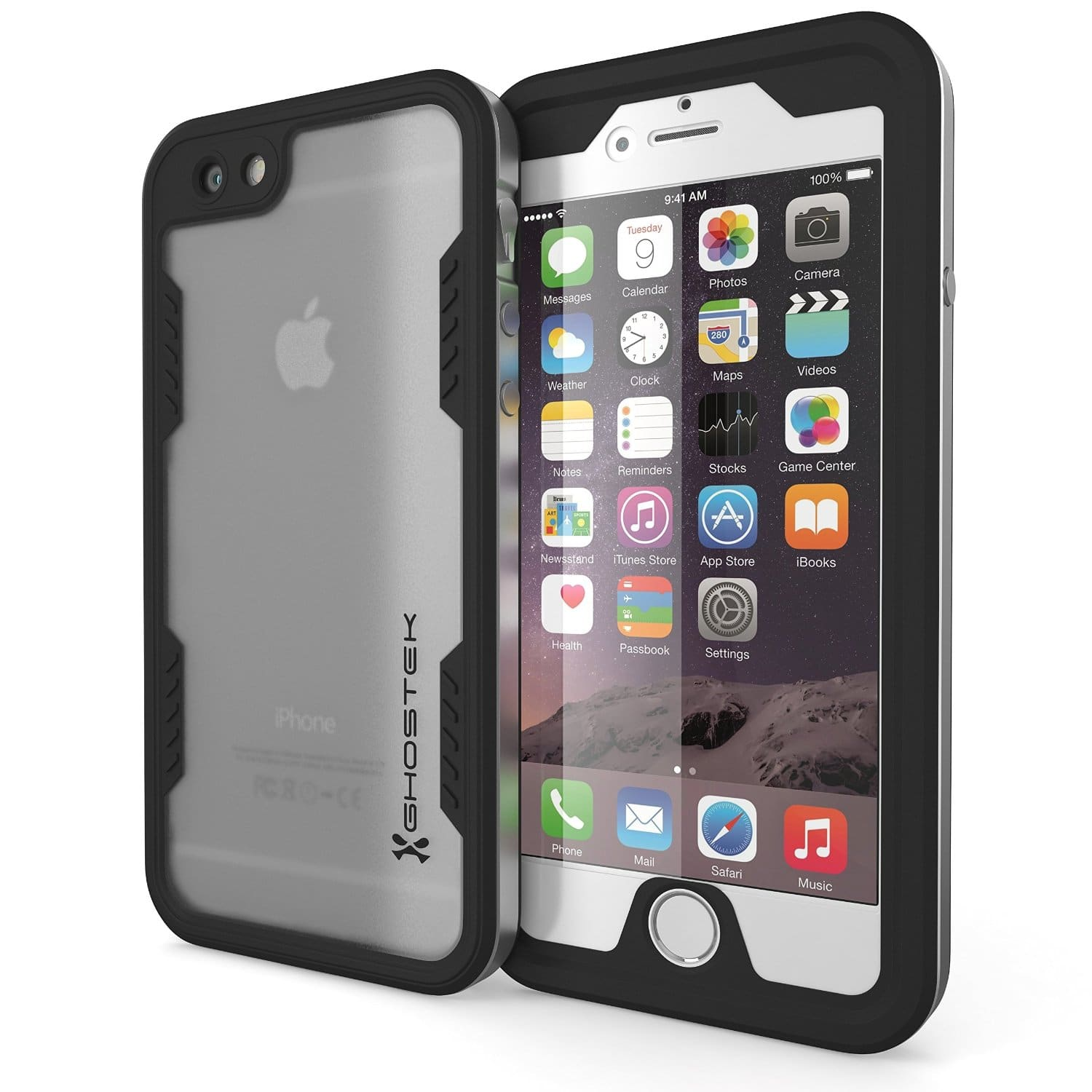 iPhone 6 Waterproof Case, Ghostek Atomic 2.0 Waterproof Case W/ Attached Screen Protector for FREE AC + Free Shipping @ Amazon.com