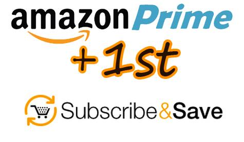 Amazon Paid Prime Members: 1st Subscribe & Save Order  $10 Off