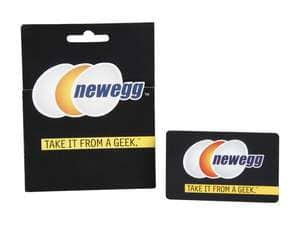 $25 Newegg Gift Card + $5 Promotional Gift Card  $27 & More