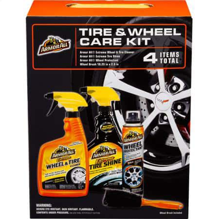 Armor All Wheel and Tire Care Care Bundle (22-oz Extreme Tire Cleaner, 22-oz Extreme Tire Shine, 7-Oz Wheel Protectant, Wheel Brush) $8 + Free Ship to Store at Walmart