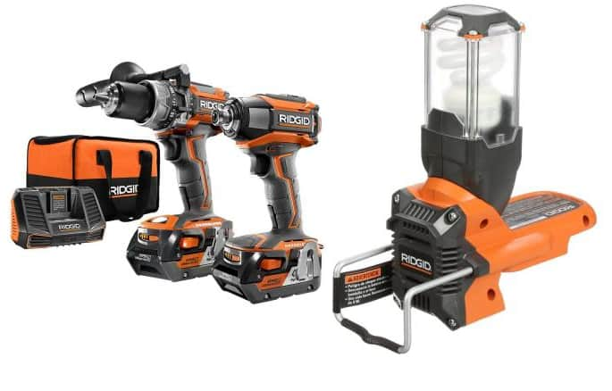18V Ridgid GEN5X Brushless Hammer Drill/Driver & Impact Drill + Tool  from $218 + Free Shipping