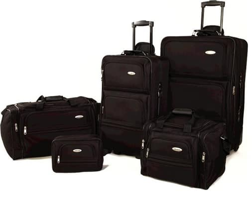 5-Piece Samsonite Luggage Travel Set (Various Colors)  $83 + Free Shipping