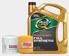 5-Qt Quaker State Full Synthetic Motor Oil $9.99 after Rebate + Free Store Pickup - Advance Auto Parts - B&M Only