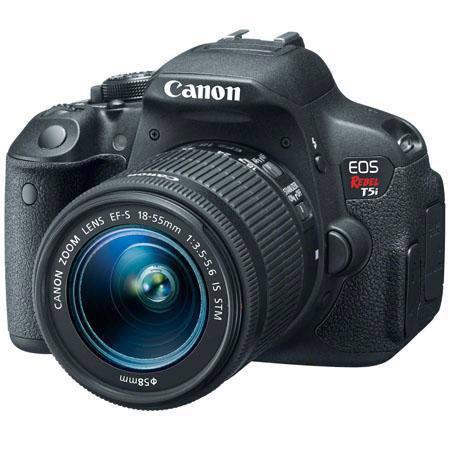 Canon T5i DSLR Camera w/ 18-55mm Lens + Pro-100 Printer Bundle  $399 after $350 Rebate + S/H