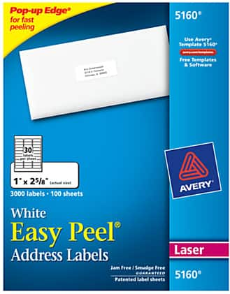 OfficeDepot.com 100% back in rewards on select supplies: avery address labels, scotch shipping tape, bankers boxes (1/24 - 1/30)