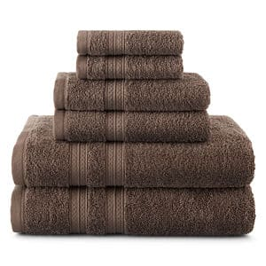 12-Piece Home Expressions Bath Towel Set (4x Bath Towels, 4x Hand Towels, 4x Washcloth) $26 + Free store pickup at JCPenney