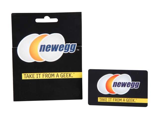 $50.00 Newegg Gift Card + $5.00 Newegg Promotional Gift Card for $51.99 Shipped @ Newegg.com