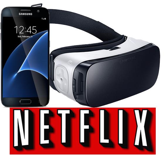 Samsung Galaxy S7/S7 Edge + 1/yr Netflix + Gear VR  from $690 + Free Shipping