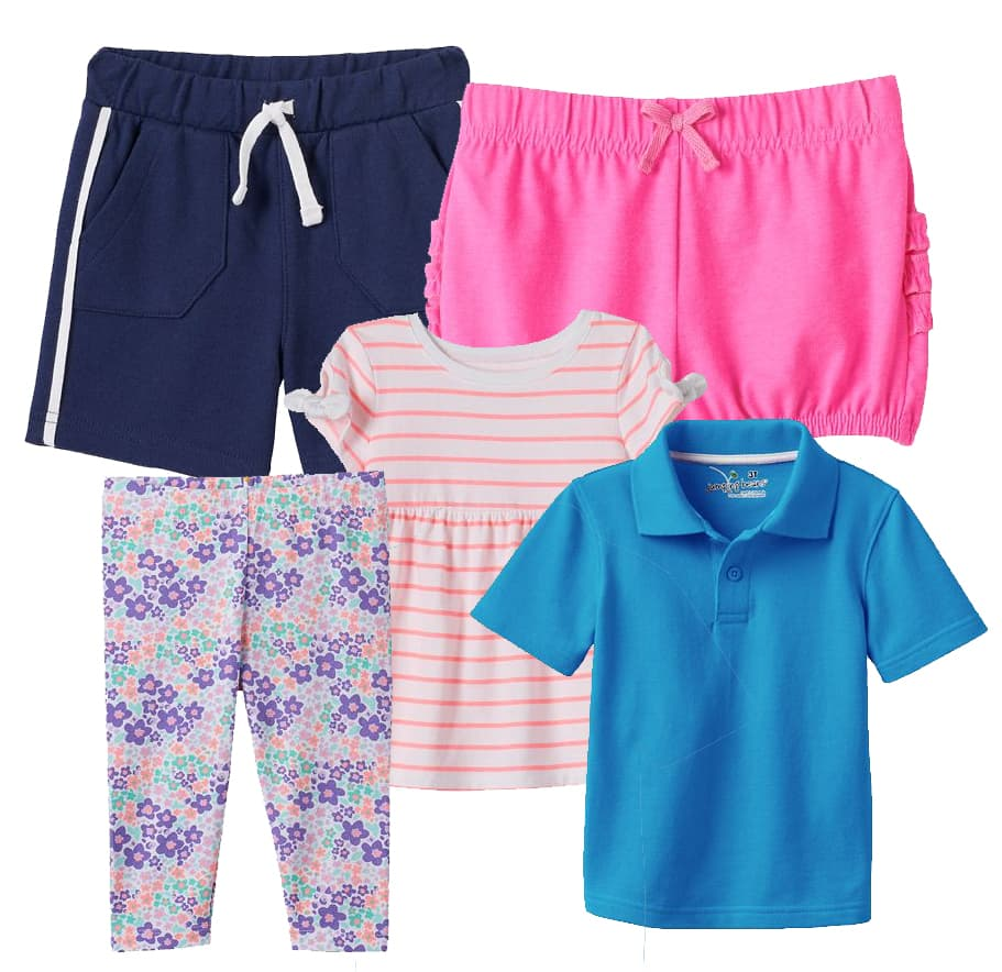 Kohl's Cardholders: Jumping Beans Baby Boys' or Girls' Apparel  5 for $14 + Free Shipping