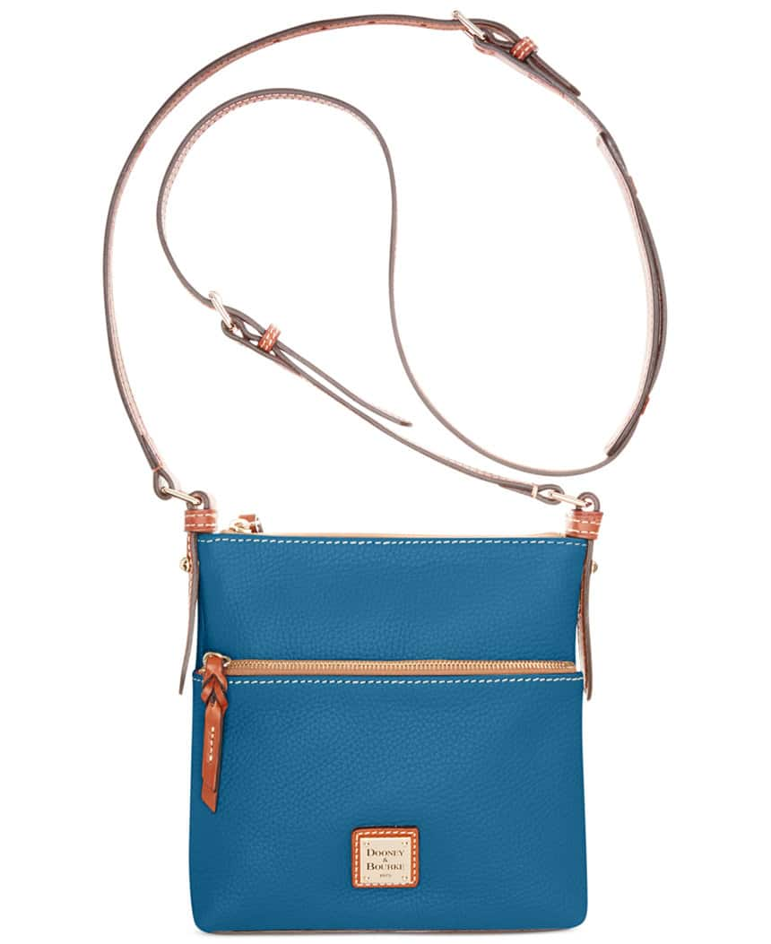 Dooney & Bourke Handbags: Pebble Letter Carrier $66, Pebble Zip Zip Satchel $77.70, Small Lexington Shopper $77.70, Much More + $4 ship or free ship over $99