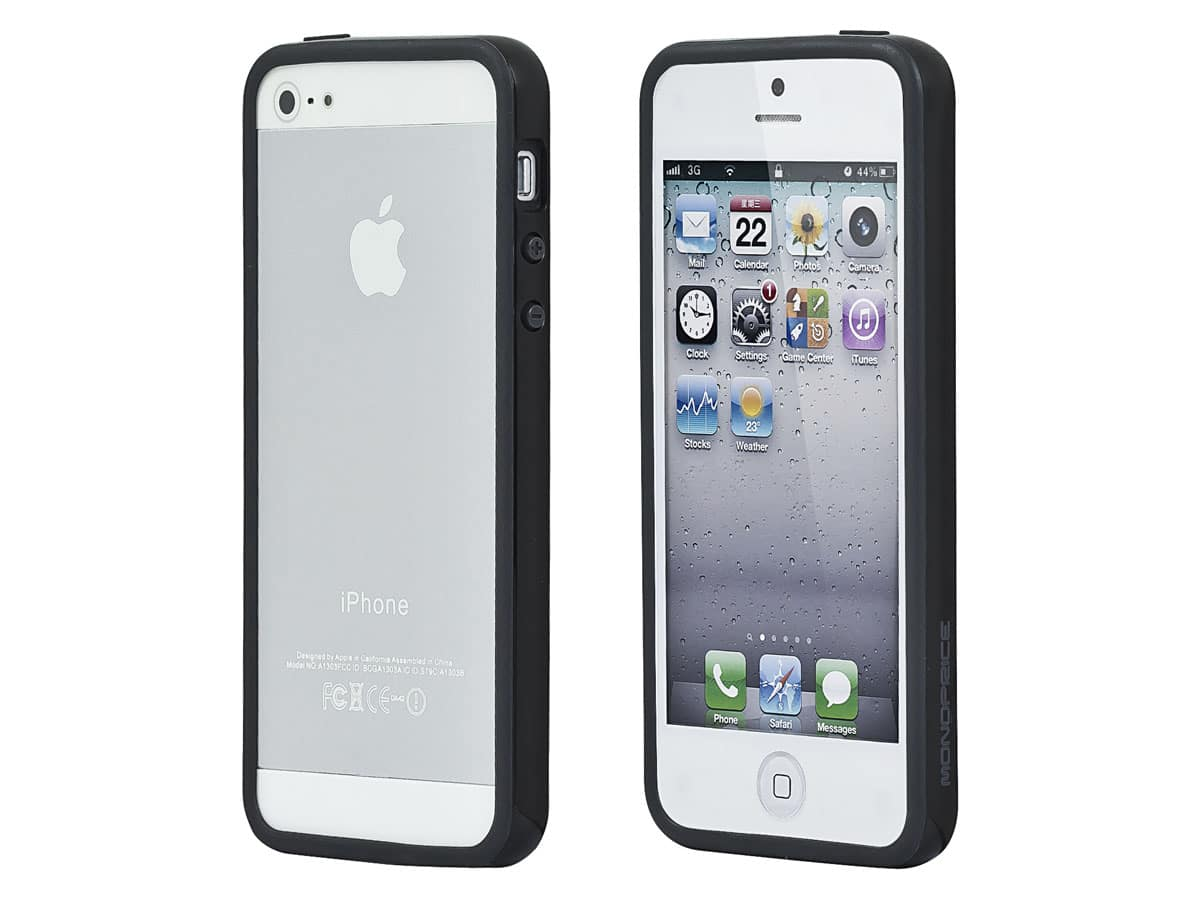 Monoprice Cases for iPhone 5/5s/SE (PC+TPU Edge Bumper, Sure Fit PC+TPU, Leatherette Stand/Cover) $1.69 + free shipping