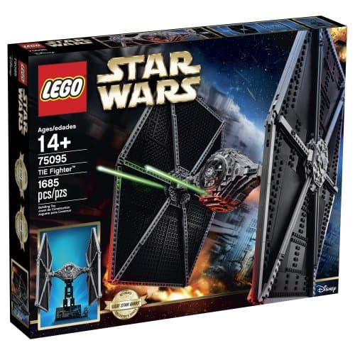 Amazon Prime: LEGO Star Wars Tie Fighter Building Kit $126 + Free Shipping