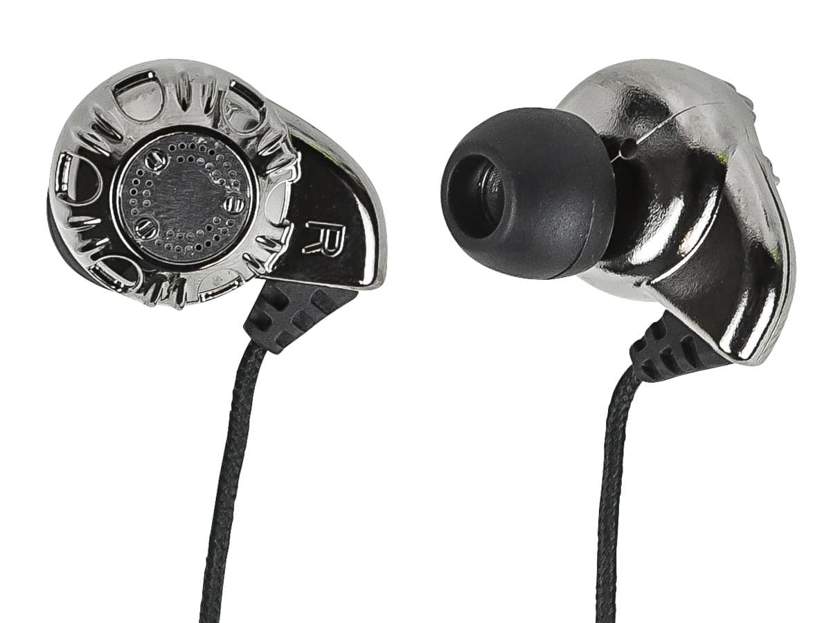 Monoprice Enhanced Bass Hi-Fi Noise Isolating Earphones (silver) + iPhone Case $4.25 + Free shipping