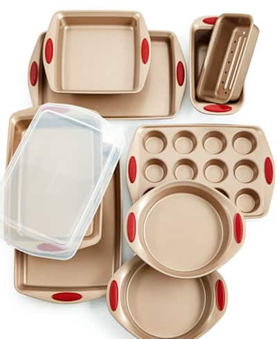 10-Piece Rachael Ray Cucina Non-Stick Bakeware Set $58 after $30 Rebate