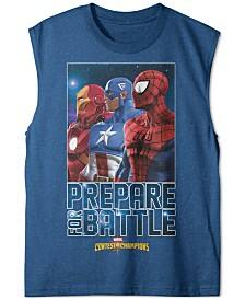 Kids Apparel: Boys' Marvel Print Muscle Tees $3.20, Girls' Tops and Bottoms from $3.20 + free ship at $25