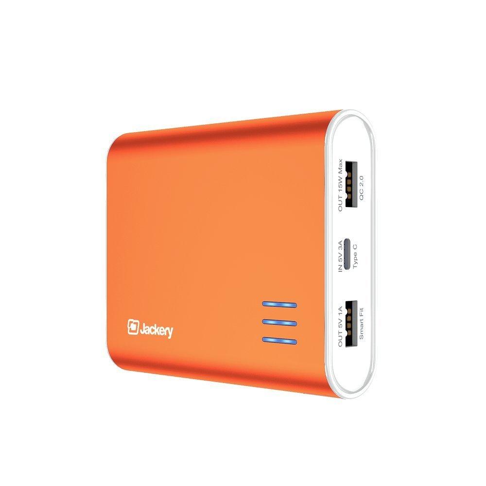 12000mAh Jackery Giant S USB-C Qualcomm 2.0 External Battery Pack  $17
